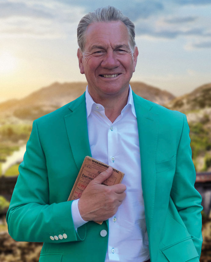 A Night In With Michael Portillo | Online Event